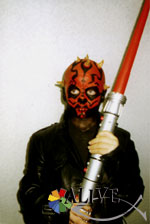 Darth Maul aus Star Wars in Aktion